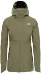 Outdoorjacke Hikesteller Parka Shell Jacket mit Feuchtigkeitsbarriere 3BVI-JK3 The North Face DEEP LICHEN GREEN HEATHER