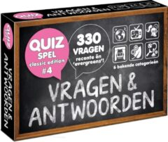 Puzzles & Games Vragen & Antwoorden #4 - Trivia Quiz en Aanvulset