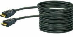 Schwaiger HDM150 013 HDMI kabel 15 m HDMI Type A (Standaard) Zwart, Goud