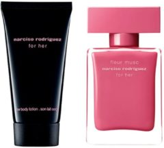 Narciso Rodriguez Damendüfte for her Geschenkset Eau de Parfum Spray Fleur Musc 30 ml + Body Lotion For Her 50 ml 1 Stk.