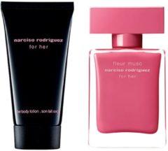 Narciso Rodriguez Damendüfte for her Geschenkset Eau de Parfum Spray Fleur Musc 30 ml + Body Lotion For Her 50 ml 1 Stk.
