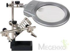 Velleman Derde Hand Met Vergrootglas, Led-Lamp En Soldeerbouthouder