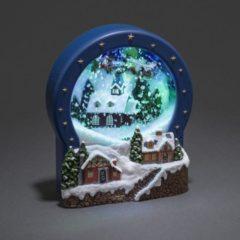 Konstsmide 3438-000 Dorp Warm-wit LED Bont stroomvoorziening kiesbaar, animatie, kerstliedjes, schakelaar
