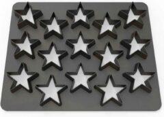 Zwarte Dekofee Polycutter ster Uitsteker voor Fondant | Rolfondant | Bakken
