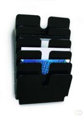 ESVSHOP.nl Durable FLEXIPLUS 6 A4 QUER 1700014061 Brochure holder Black, Transparent A4 landscape No. of compartments 6 1 pc(s) (W x H x D) 340 x 520 x 100 mm