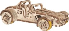 Naturelkleurige Wooden City WoodenCity: Wooden Figures (Roadster Car) /Figures