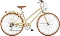 28 Zoll Damen City Fahrrad 6 Gang Alpina Liceo... creme