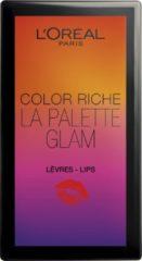 L'Oréal Paris L'oréal Color Riche - 000 Glam - Lip Palette (Ex)