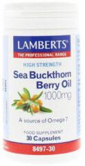 Lamberts Duindoorn olie 1000 mg - Sea buckthorn berry oil 30 Capsules