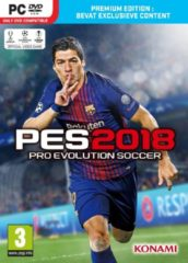Konami Digital Entertainment Pro Evolution Soccer 2018 - Premium Edition - Windows