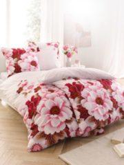 Bettwäsche 'Spring Flower', 4tlg. Webschatz rosé