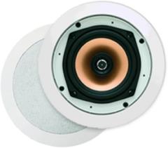 Douche Concurrent Badkameraudio Aquasound Samba DT Speaker Inbouw Rond 23x7.8cm Wit