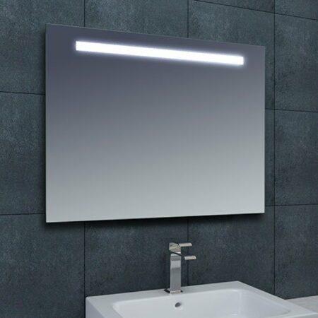 Afbeelding van Douche Concurrent Badkamerspiegel Tigris 60x80cm Geintegreerde LED Verlichting Lichtschakelaar