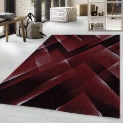 COSTA Impression Pera Design Laagpolig Vloerkleed Rood- 160x230 CM