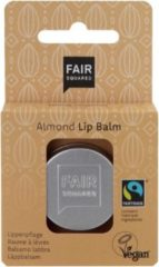Zilveren Fair Squared lippenbalsem Sun Protect Almond - Zero Waste