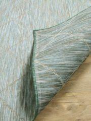 Pergamon In- und Outdoor Teppich Beidseitig Flachgewebe Hampton Karo... 160x230 cm