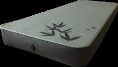 HC - Human Comfort Valette Compact 15 DUO Slaapmat Middengrijs/Groen