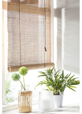 Afbeelding van Xenos Rolgordijn bamboe - 90x180 cm
