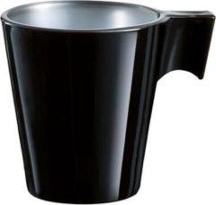 Sokken Fabriek Luminarc Flashy Beker Expresso Zwart - 8 cl - Zwart
