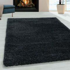 Antraciet-grijze Impression Himalaya Pearl Soft Shaggy Hoogpolig Vloerkleed Antraciet - 240x340 CM