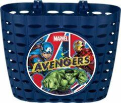 Blauwe Marvel Avengers fietsmandje