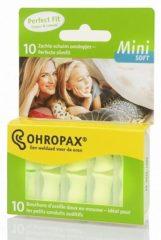 Ohropax geluiddemp.soft mini 10 st