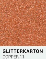 Glitterkarton notrakkarton Glitterkarton 11 copper A4 230 gr.