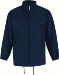 Marineblauwe Bc Heren regenkleding - Sirocco windjas/regenjas in het donkerblauw - volwassenen M (50) marine