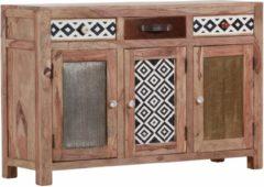 Gutmann Factory Sideboard »Safari« 3 Holztüren und 3 Schubladen mit dekorativen Fronten