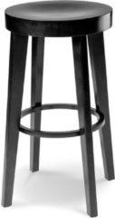 Fameg Fico kruk - Hout - 65 cm hoog - Zwart gebeitst
