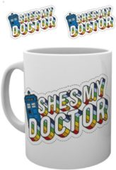 Witte Doctor Who My Doctor Mok