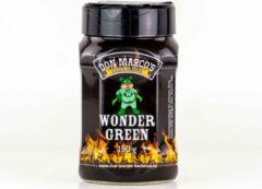 Groene Don Marco's Barbecue Don Marco's - WonderGreen - BBQ RUB - 150 gram