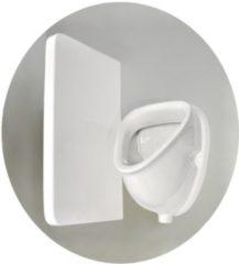 Urinoir Sanicare Witte Kleur Inclusief Boveninlaat En Onderafvoer 45x32x31 cm