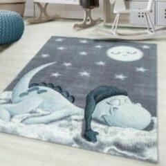 Ayyildiz / Carpetwinkel.nl Bambi - Vloerkleed - Blauw - 160 cm Rond Ø cm
