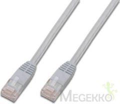 Digitus Professional DK-1511-010F/WH RJ45 Netwerk Aansluitkabel CAT 5e U/UTP 1 m Wit Verdraaide paren