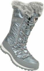 Grijze Dare 2b Dare2B Kardrona II Metallic waterdichte Snow Boots met rand van imitatiebont voor dames, Wandelschoenen zilver