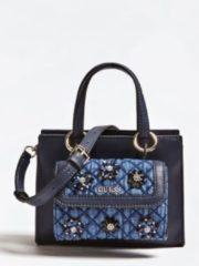 Blue Guess Borsa Sienna Pochette