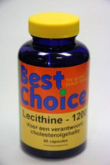 Best choice Lecithine 1200mg - 60 tabletten