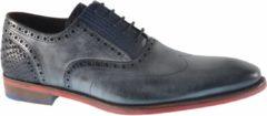 Zwarte Floris Van Bommel Heren Nette schoenen 19062 - Grijs - Maat 41+