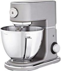 Grijze WMF keukenmachine Profi Plus met gratis vleesmolen + deegspuitmond t.w.v. ca. € 95,