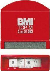 Zakrolmaat, met. band 3mx13mm wit BMI