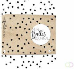 Zwarte MUS creatief Mijn Bullet Journal - Black dot