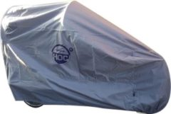 Zilveren CUHOC COVER UP HOC Topkwaliteit Diamond - Babboe Curve Mountain Hoes - Waterdichte ademende Bakfietshoes met UV protectie en slotgaten
