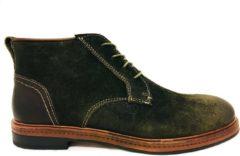 Australian Footwear Groene Australian Veterschoenen Oakwood Suede