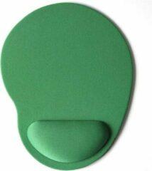 Able & Borret Muismat | Groen | Ergonomisch | Polssteun | Gel