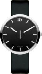 Zilveren Danish Design watches unisexhorloge Wink Black Black IQ13Q1198