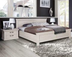 Bett 180 x 200 cm mit Nako Set Pinie weiss FORTE MÖBEL Kashmir