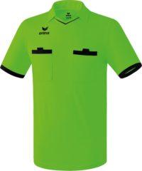 Groene Erima Saragossa Scheidsrechter Shirt Heren Sportshirt - Maat XXL - Mannen - groen/zwart