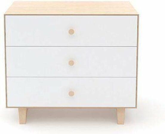 Afbeelding van Witte Oeuf NY Merlin 3 Rhea drawer birch/Merlin Rhea kast 3 laden berk (-20%)