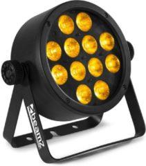 Zwarte BeamZ Professional BeamZ BAC306 Aluminium LED Par met 12x 12W 6-in-1 LEDs